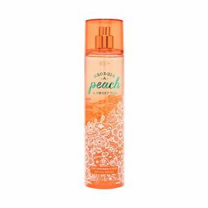 Bath-Body-Works-Georgia-Peach-Sweet-Tea-8-0-oz-Fine-Fragrance-Mist-Brand-New