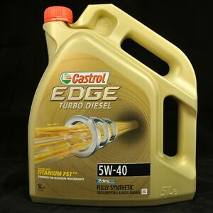Castrol edge turbo diesel 5w 40