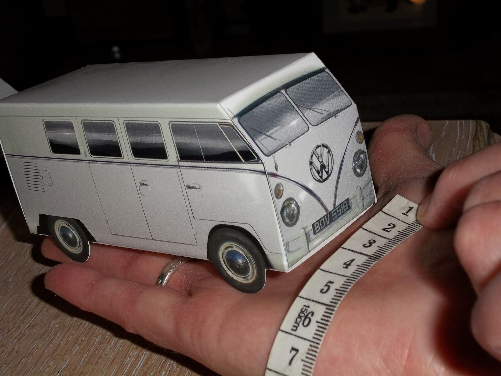 90 X Bianco VW Splitscreen Camper Van Van Van Nozze Favore VW Party Box Scatole Di Dolci 511e90