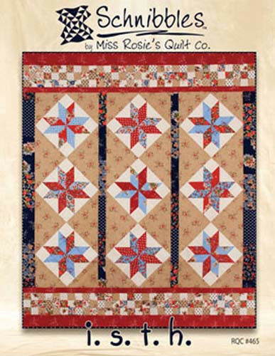 ~ by Schnibbles Miss Rosie/'s Quilt Co Quilt Pattern ~ I.S.T.H