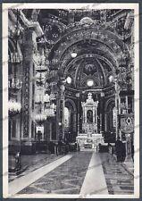 GENOVA CERANESI 14 SANTUARIO N. S. della GUARDIA - INTERNO Cartolina viagg 1959