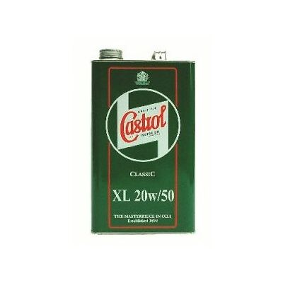 2 x Castrol Classic XL 20W-50 Engine Oil - 1 Gallon 4.54 Litres 1925A