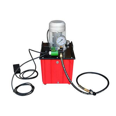 Electric Hydraulic Pump >> Single Direction 10 000 Psi Electric Hydraulic Pump 10 Gallon Tank 110 Volt Ebay