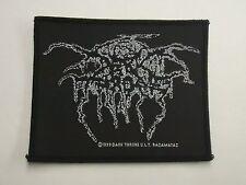 DARKTHRONE BLACK METAL WOVEN PATCH