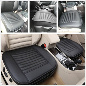 bamboo charcoal pu leather car seats protect mat cover full surround cover pad. Black Bedroom Furniture Sets. Home Design Ideas