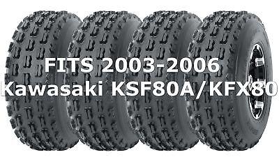 2 WANDA ATV tires 19x7-8 19x7x8 Kawasaki KSF80A//KFX80 Arctic Cat 90 P311