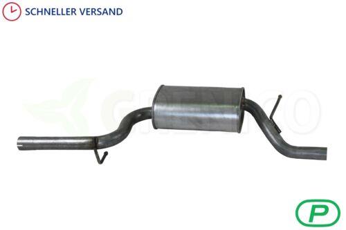 Mittelschalldämpfer VW PASSAT 1.6 FSi 2005-2008 Stufenheck Kombi Auspuffanlage
