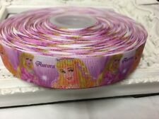 New 1 Metre Aurora Print Grosgrain Ribbon Designer 22mm Cakes Bow Dummy