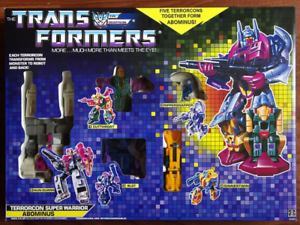 TRANSFORMERS G1 Reissue Abominus Brand new Gift Kids Toy Action
