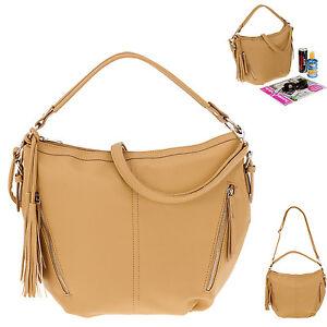 d7f099c3c2d9b Das Bild wird geladen Handtasche-ALESSANDRO-PARIS-4451-Schultertasche- Beuteltasche-Tasche-BRAUN-