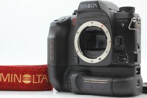 N MINT mit Riemen Minolta maxxum7 α-7 Alpha 7 Dynax 7 mit vc-7 Grip aus Japan