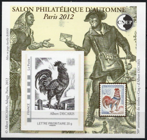Vente Professionnelle Timbre France Bloc Cnep N°62 Neuf** Salon Philatélique D'automne A Paris 2012