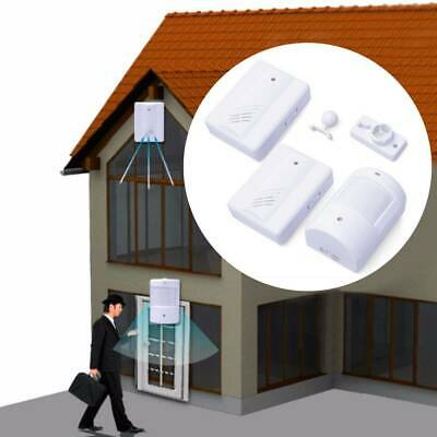 Restaurant Shop Door Entry Wireless Pir Motion Sensor Chime Door Bell Alarm UK