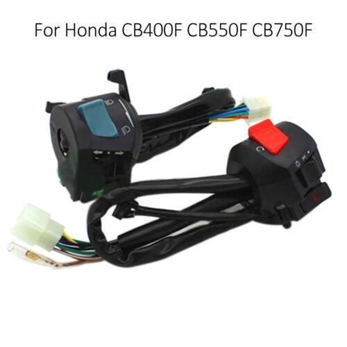 1 Pair Handlebar Control Button ON//OFF Switch UDD For Honda CB750 FCB550F CB400F