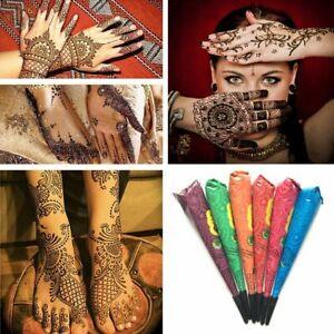 Henna Tattoo Indian Paste Temporary Body Art Paint Ink Kit Tube ...