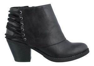 Rampage Tail Spin Boot Womens Ankle Boots Mid Heel   eBay