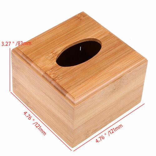 Boîte tissu Extraction slide housse Bambou Nouveauté Design Décoration S//M//L