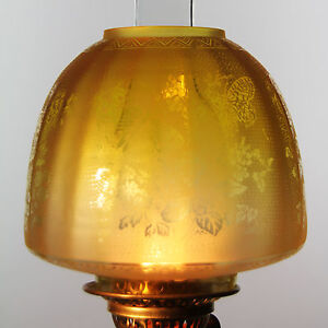 Oil lamp shade butterfly beehive shade lemon 4 fit ebay image is loading oil lamp shade butterfly beehive shade lemon 4 aloadofball Image collections