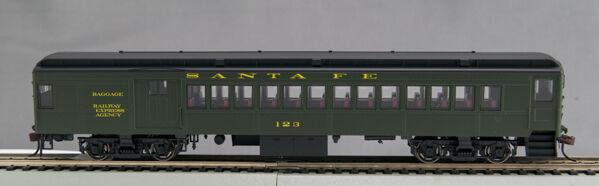 HO P-54 Santa Santa Santa Fe Combine  123 0001-094069 (B) c0b0b5