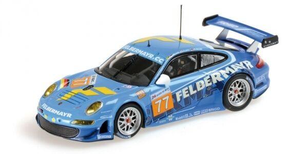 Porsche 997 gt3 rsr Team ATCI amable Lietz henzler 24h le mans 2010 1 43