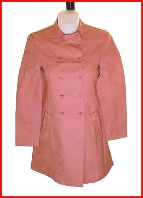 Bnwt Women/'s French Connection Double Breast Buttoned Coat UK6 RRP£120 Fcuk Pink