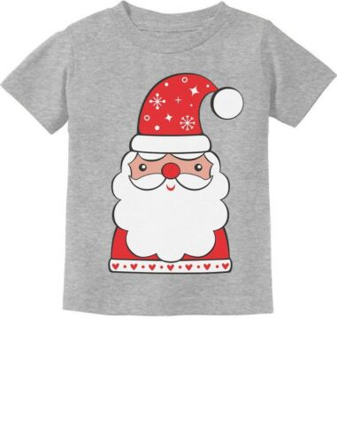 Cute Santa Claus Outfit For Christmas Toddler Kids T-Shirt