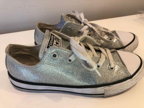 Converse us3 Glitter 35 5 Sneaker Star All Uk3 Ox Argento Chuck Taylor 5eur Lotop rBTqxrpS