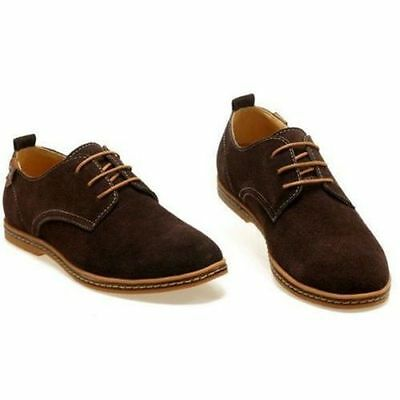 Classic Design  Summer Suede European Style Leather Shoes Men's Oxford Casual