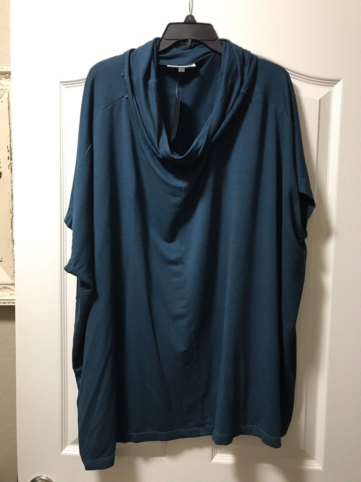 NEW Bryn Walker Cowl Poncho Tunic Größe Medium, Retail