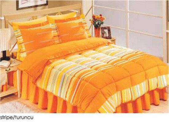 8tlg. Daunenbett  Bettdecke Daunendecke mit Bettgarnitur