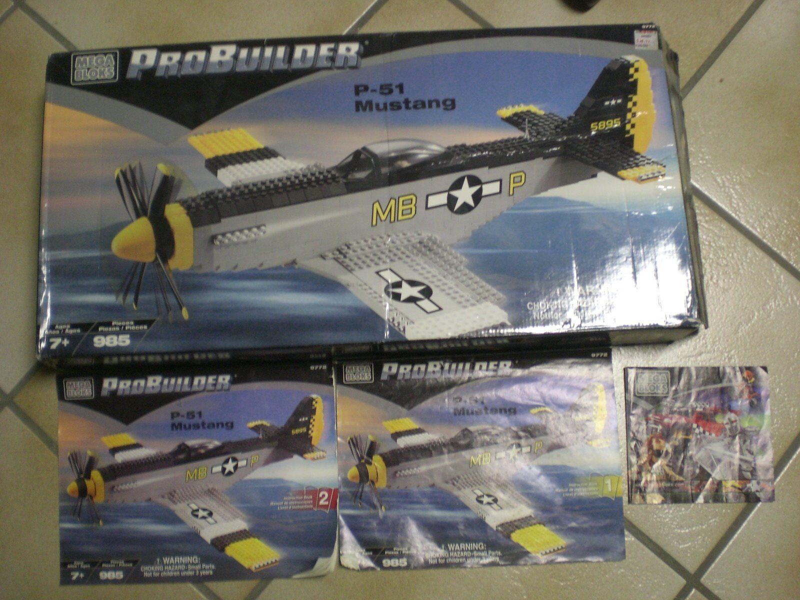 Mega-Bloks 9772 Probuilder P-51 Mustang
