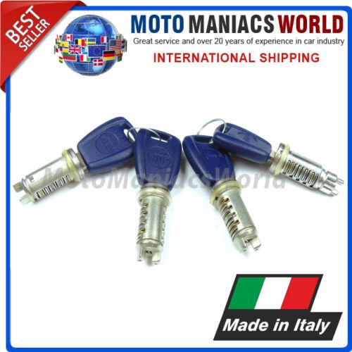 Fiat Doblò 1 MK1 2000 Serrature Portiera Barile /& Tasti Set 4pcs Made IN Italy