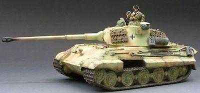 KING & COUNTRY WW2 GERMAN ARMY WS067 KING TIGER TANK SET NORMANDY MIB