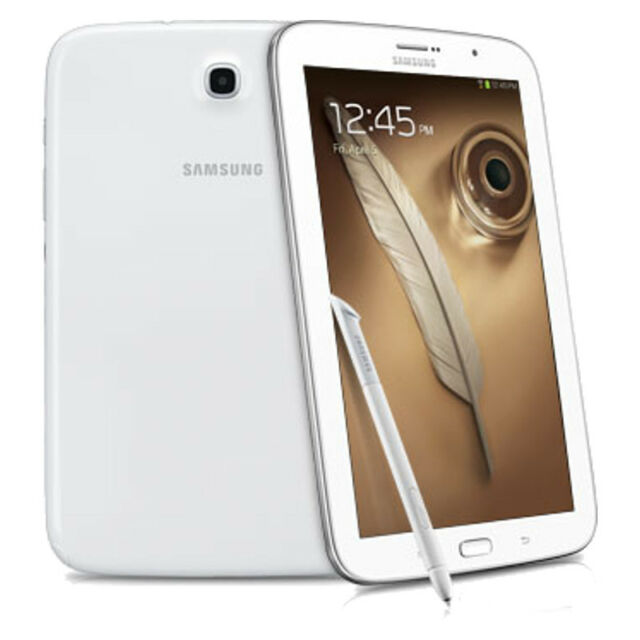 Samsung Galaxy Note GT-N5110 16GB, Wi-Fi, 8in - Pearl White Very Good Condition