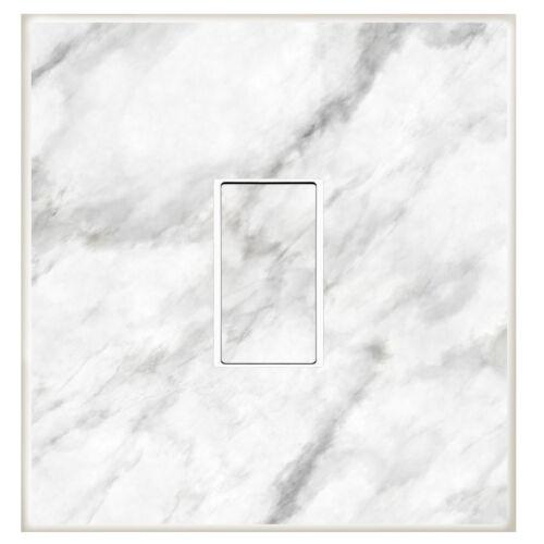 14 Marble Print Room Decor Interrupteur De Lumière Autocollant Autocollant Vinyle