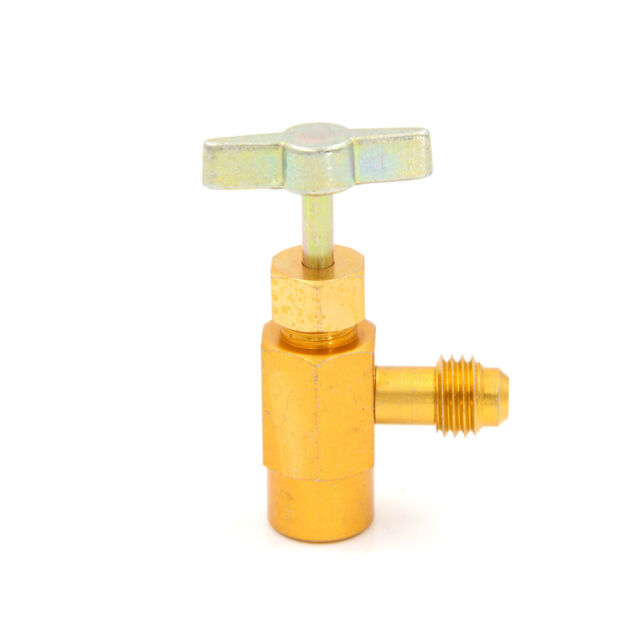 R-134Ac R-134A Refrigerant Tap Can Dispensing 1//2Acme Prread Valve Prnd Tool JD