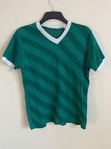 Vintage Footaball Shirt Green -Medium