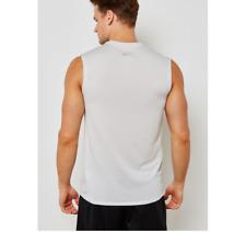 41055b62ac3e8 Nike Cool Miler Tank Top Mens 718346-100 Grey Dri-fit Shirt ...