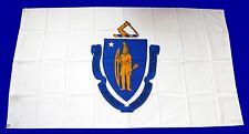 USA Flagge Fahne Massachussetts 90x150cm Ösen US State Flag Sturmflagge Deko