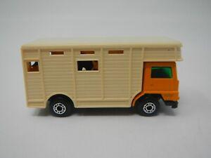 Vintage Matchbox Superfast Diecast 1977 Green Bedford Horse Box No 40