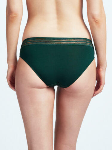 John Lewis Elle Bikini Briefs Deep Green Size 10 New with Tags Free P/&P UK