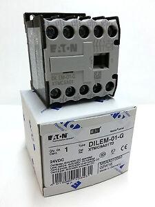 Leistungsschütz 3kW DIL M7 24VDC
