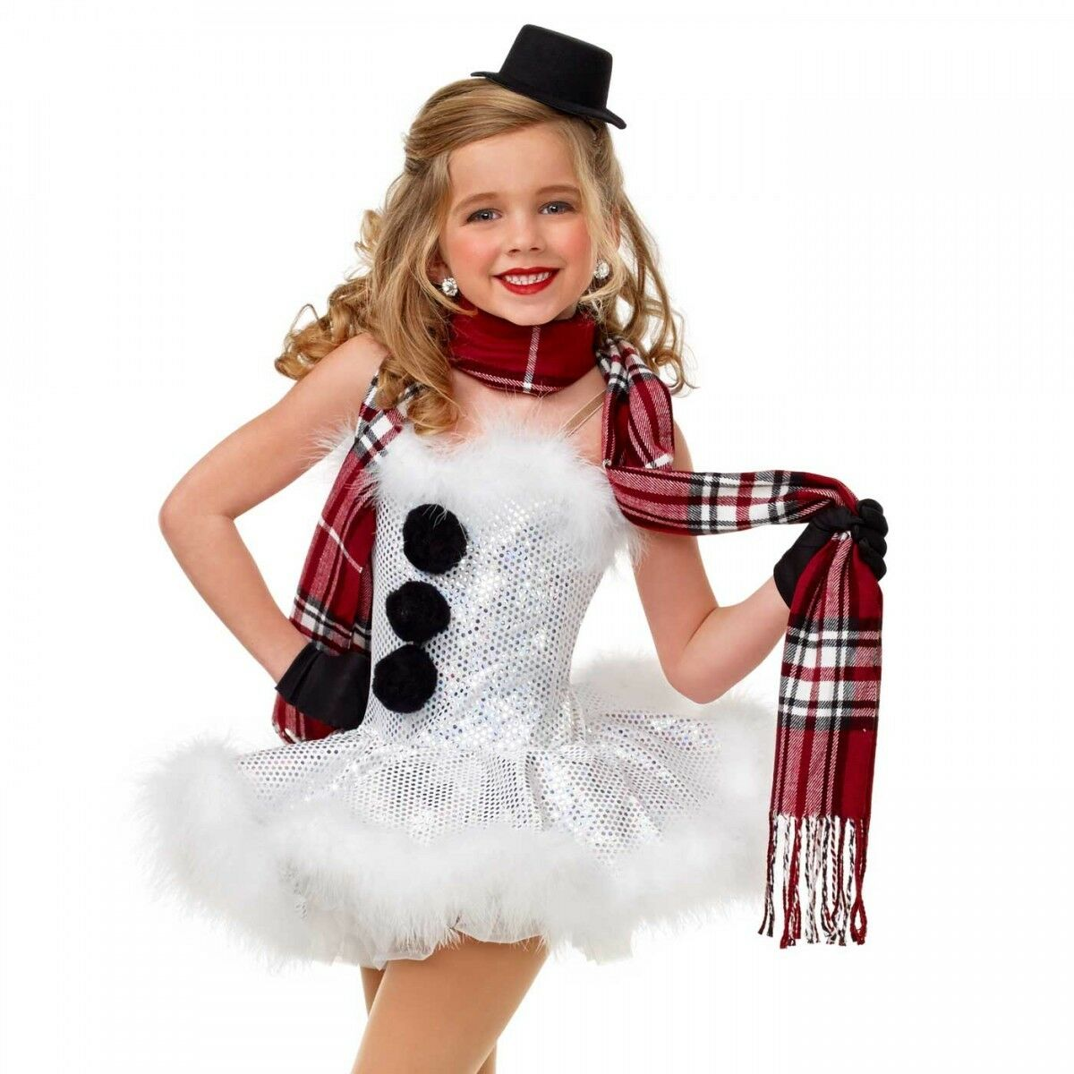 NEUE FIGURE ICE SKATING BATON Two IRLING HOLIDAY COSTUME weißnachten SNOWMAN DANCE