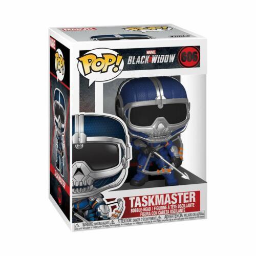 Veuve noire-Taskmaster avec nœud 606 46685 VINYL NEW EN STOCK MARVEL FUNKO POP