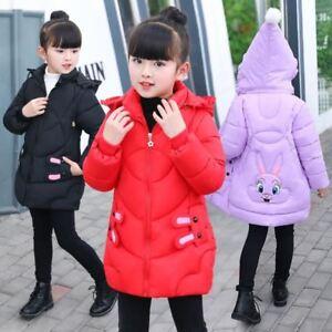 4c94421fdad8 Baby Winter Coat Parkas Jackets for Girls Kids Fashion Printed Girls ...