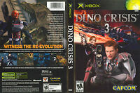 Dino Crisis 3 Custom Xbox Case (no Game)