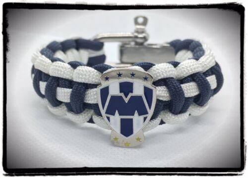 Los Rayados De Monterrey Adjustable Paracord Bracelet.