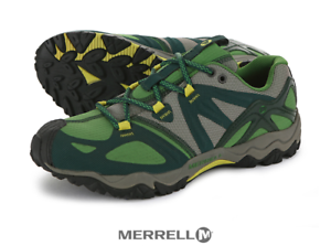 Merrell Womens Grassbow Sports Green Trekking Hiking Boots 5114-32471