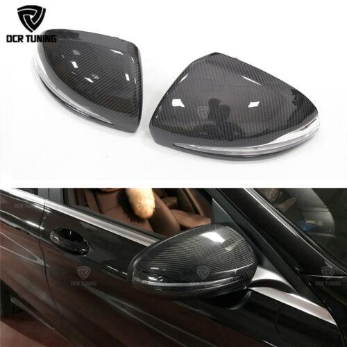 Carbon Fiber Mirror for Mercedes W205 W213 W222 GLC X205 C63 S63 E63 AMG LHD