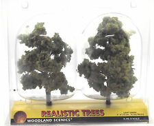 "Woodland Scenics Realistic Trees TR1512 Light Green N HO Z  5 6"" 12 15 Cm"